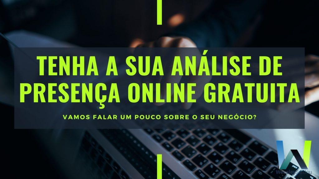 analise de presença online gratuita